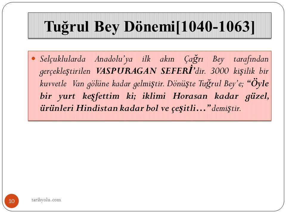 Tuğrul Bey Dönemi[1040-1063]